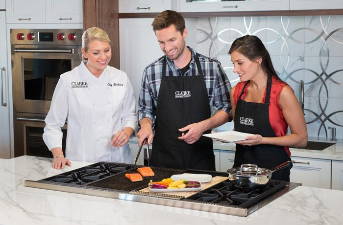 Clarke offers homeowners the unique opportunity to Test Drive Wolf appliances.
