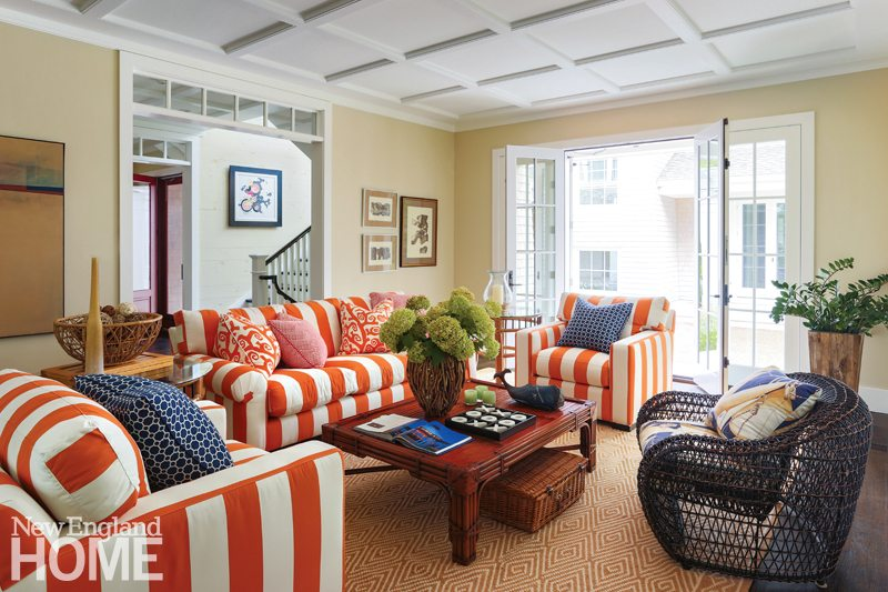 Cape Cod Family Compound Family Room