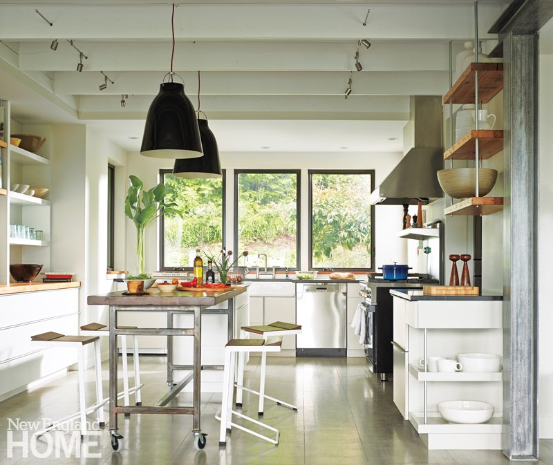 Farmhouse Modern New England Home Magazine