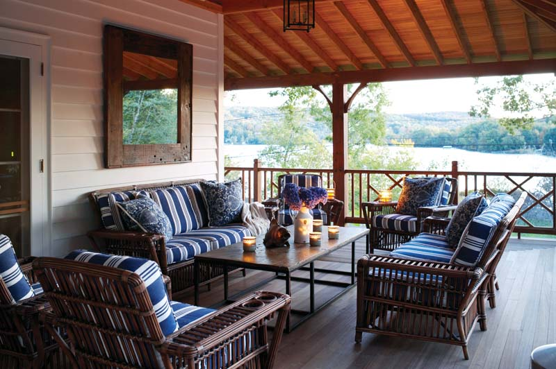 Big porches create outdoor rooms and transitions between interior and exterior space.