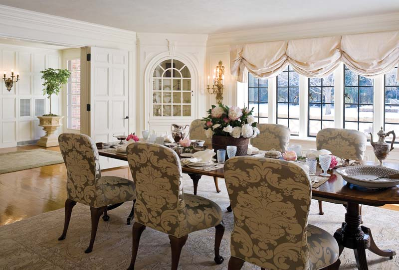 Tammy Randall Wood dining room
