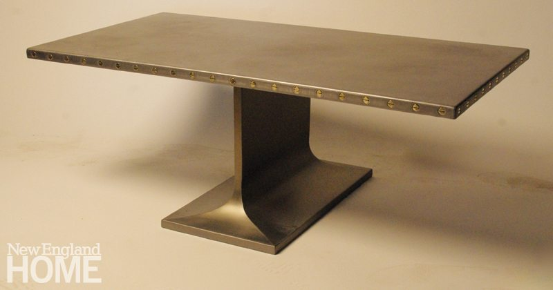York Street Studio Steel Table