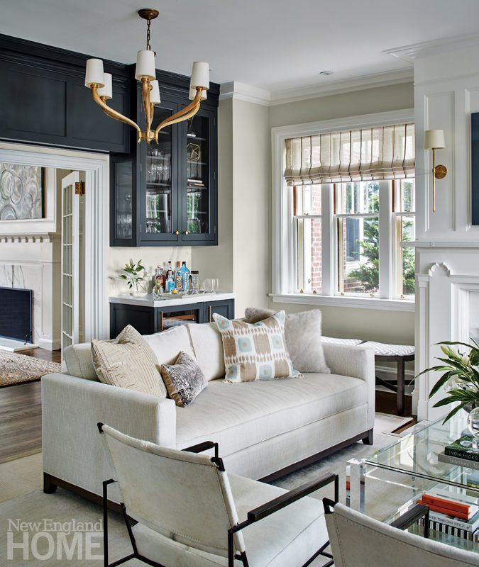 A Tudor Style Home Gets A Fresh Look
