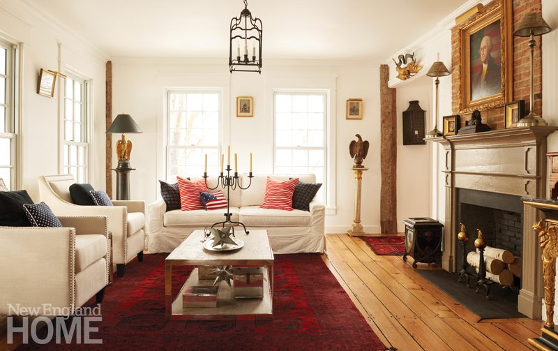 A Colonial Era House Gets A Make Over New England Home
