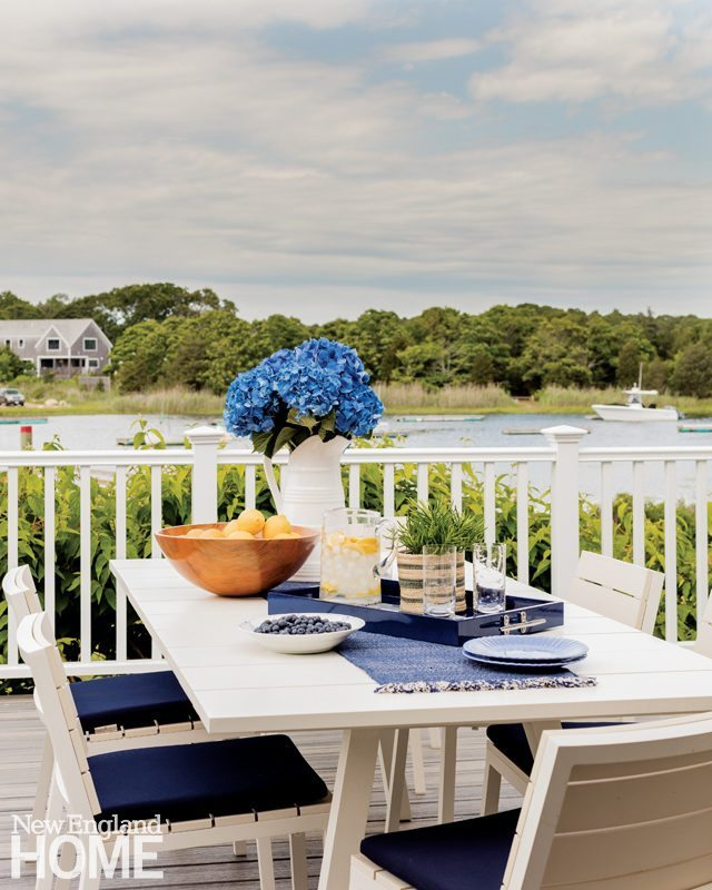 Cape Cod Cottage Outdoor Dining