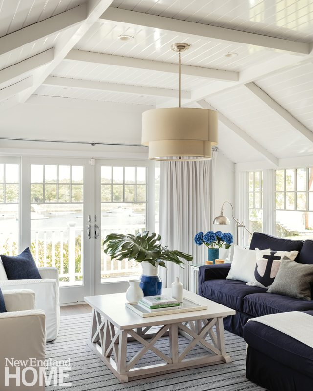 Cape Cod Cottage Living Room