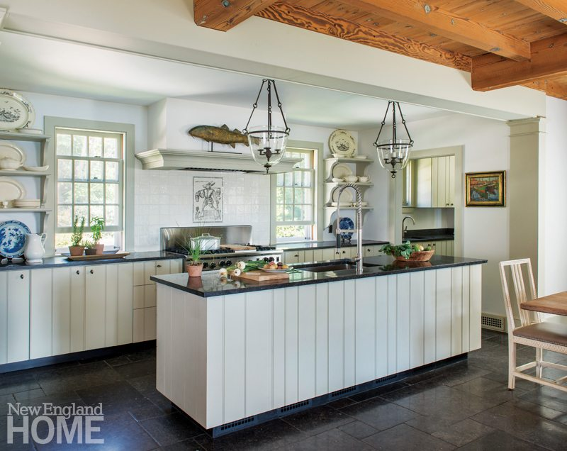 Sustainable Cape Cod Kitchen