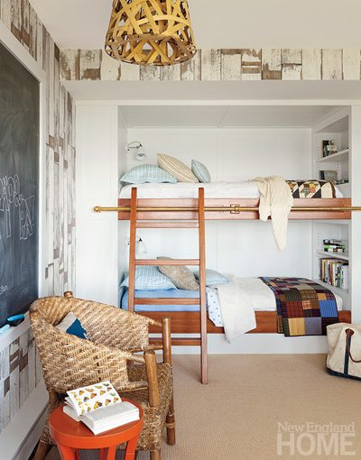 Maine Coastal Bunk Room