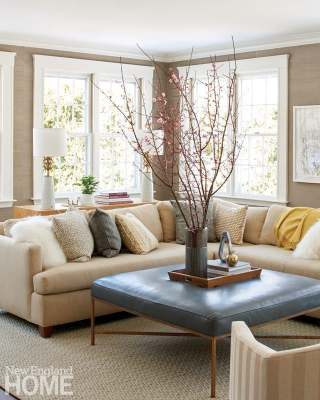 Neutral family room Phoebe Lovejoy