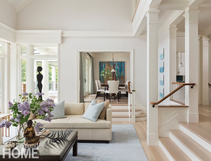 Elegant neutral family room