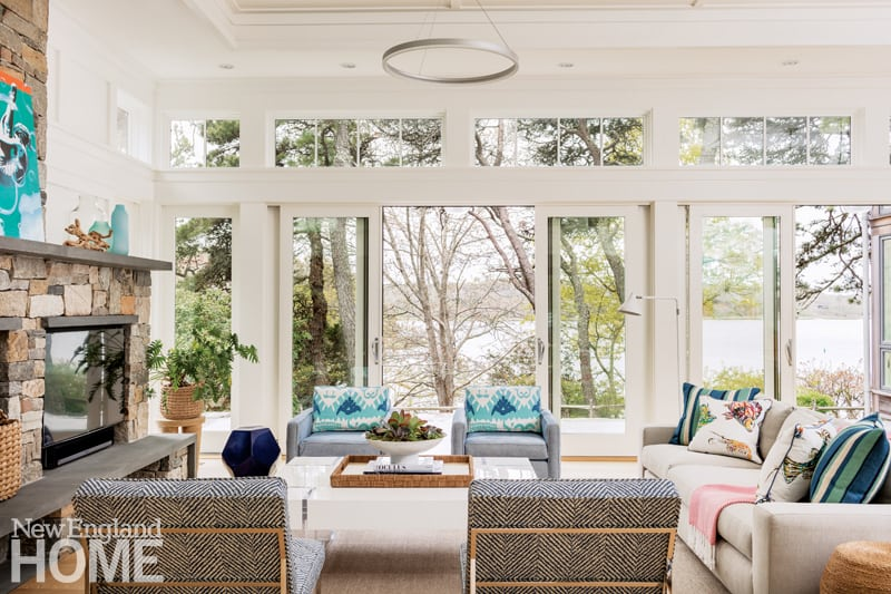 Tour A Cape Cod Home That Seamlessly Blends With The Natural