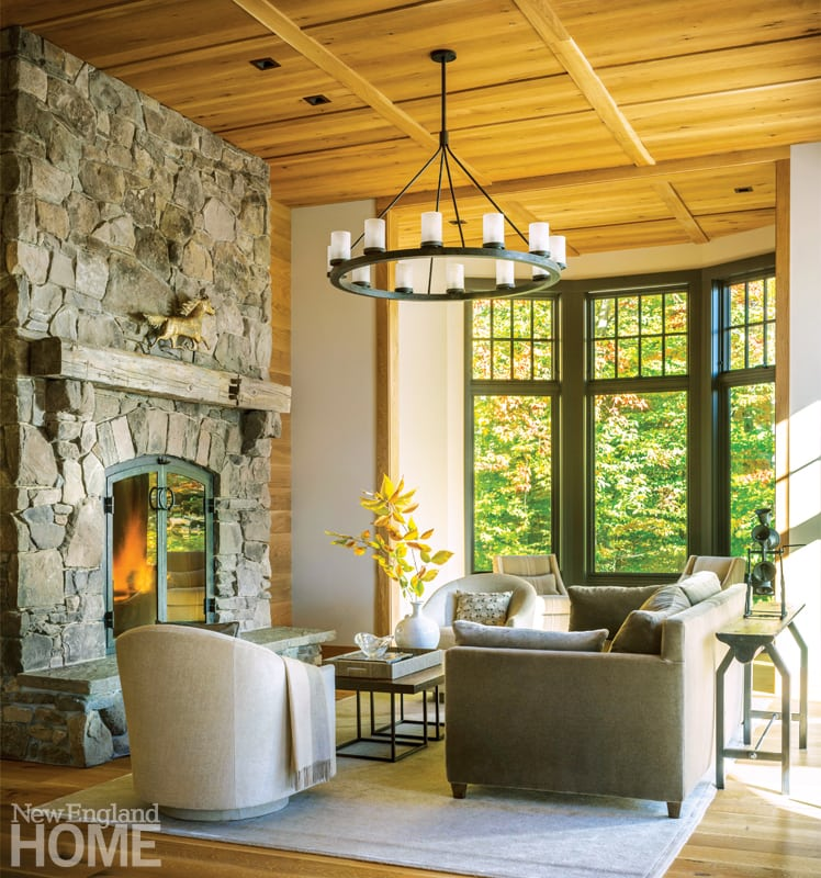 A Vermont Shingle Style Home Mixes Classic and Contemporary - New