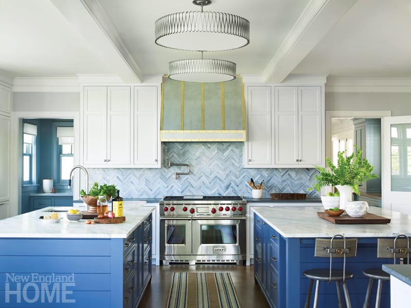This Quonnie Beach House Is A Blue Heaven New England Home Magazine